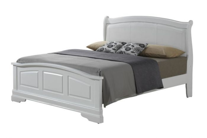 Bob's Queen Bed in White