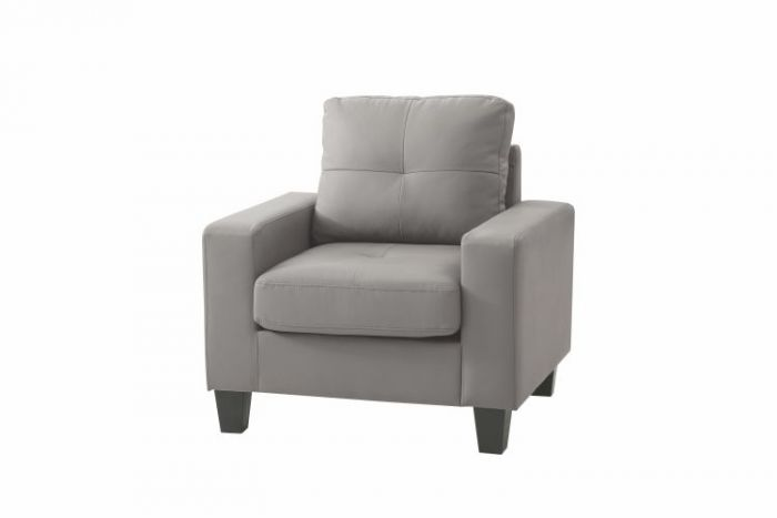 Newbury Club Progressive Chair in Gray