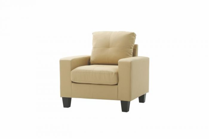 Newbury Club Chair in Beige