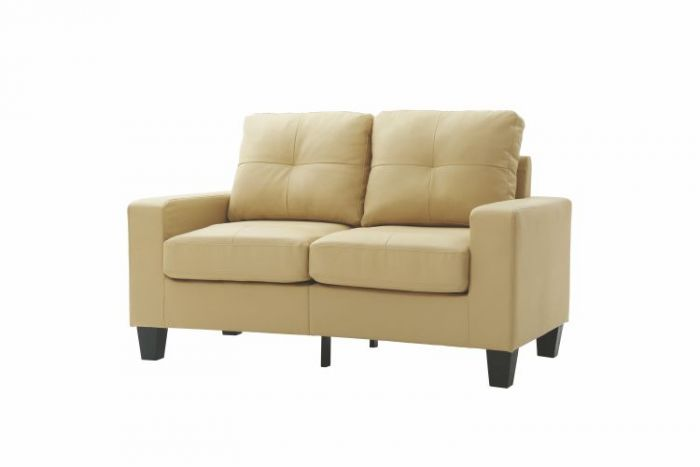 Newbury Modular Ashley Loveseat in Beige