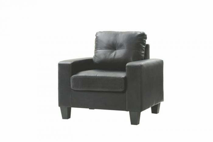 Newbury Club Chair in Black