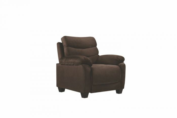 Ashley Chair in Chocolate Micro Suede
