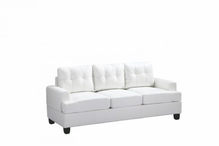 Ashley Sofa in White PU