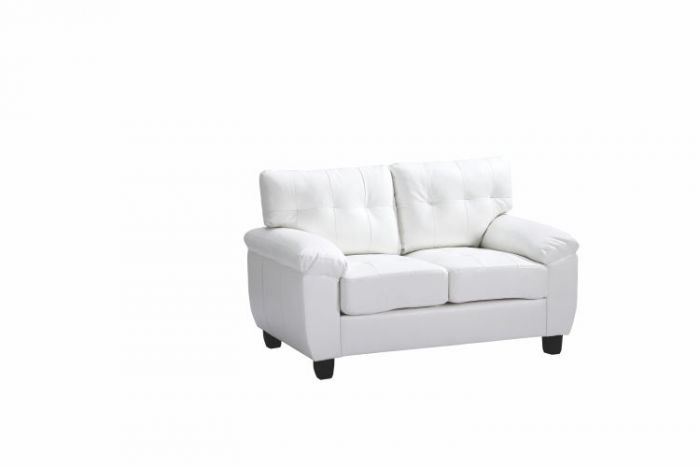 Progressive Loveseat in White