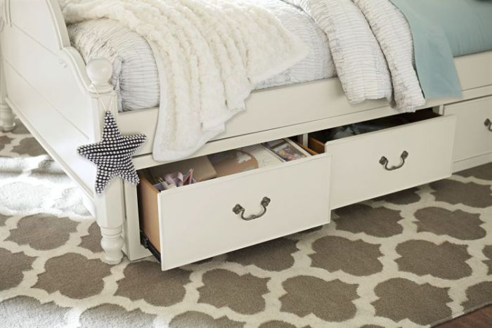 Inspirationals Underbed Storage In Seashell White