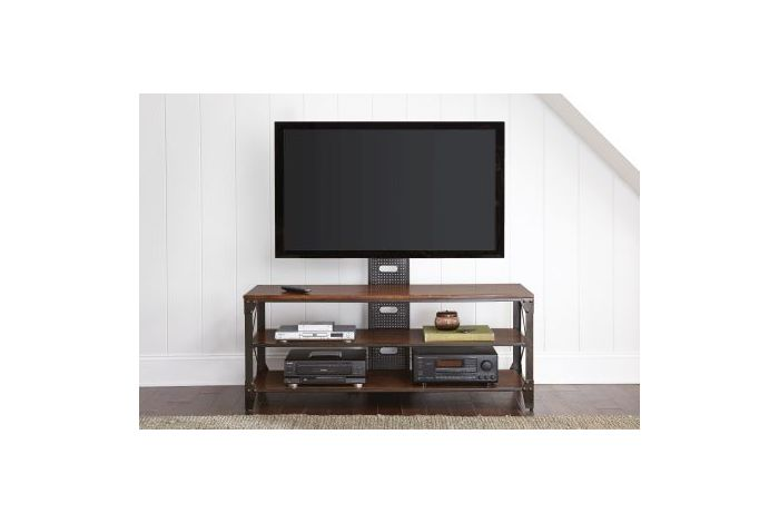Winston TV Stand in Durable Powder Coat Finish