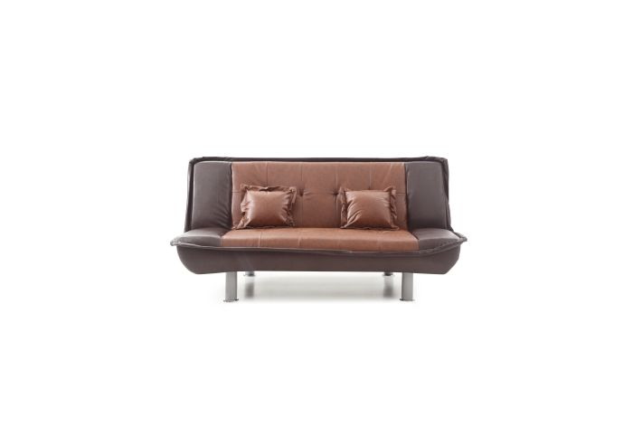 Sofa Bed in Brown 2 Tone