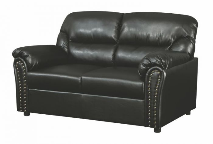 Progressive Loveseat in Black