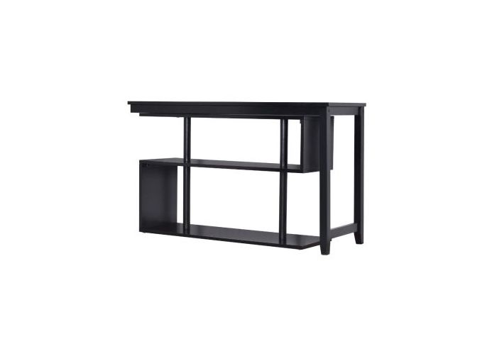 Virginia II Swing Out Desk in Black