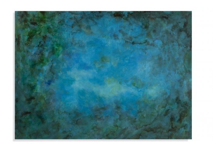 Caribbean Water in Canvas Wrap