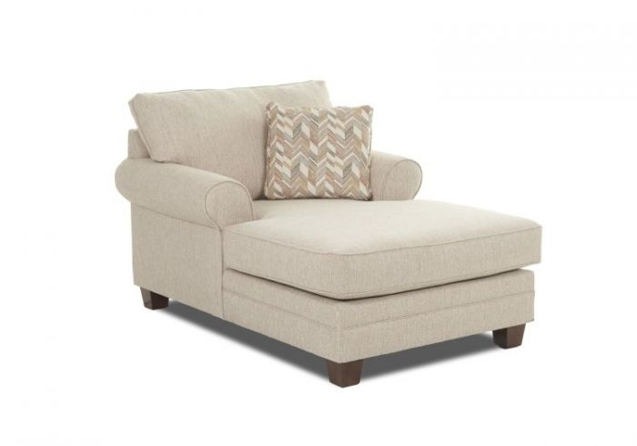 Avery Chaise in Almond