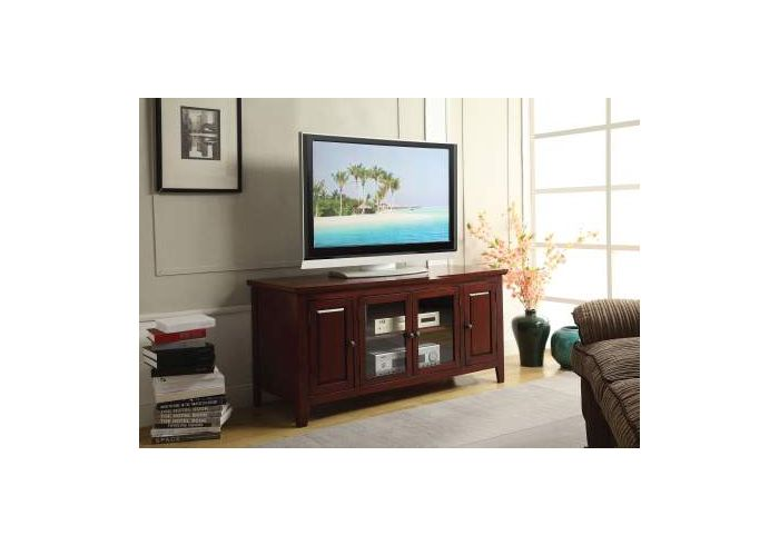 Christella TV Stand in Cherry