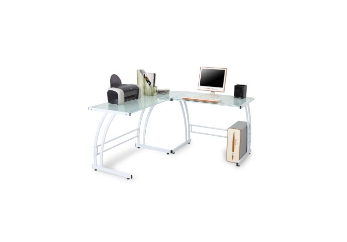 Gamma Desk in White Frame