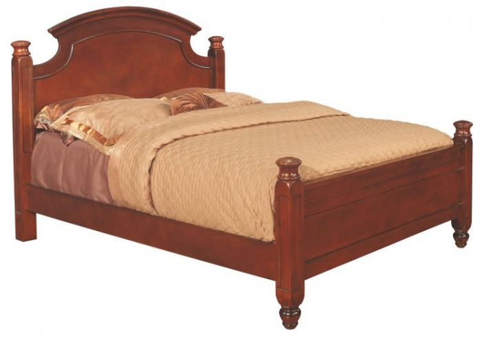 Bob's King Post Bed in Cherry