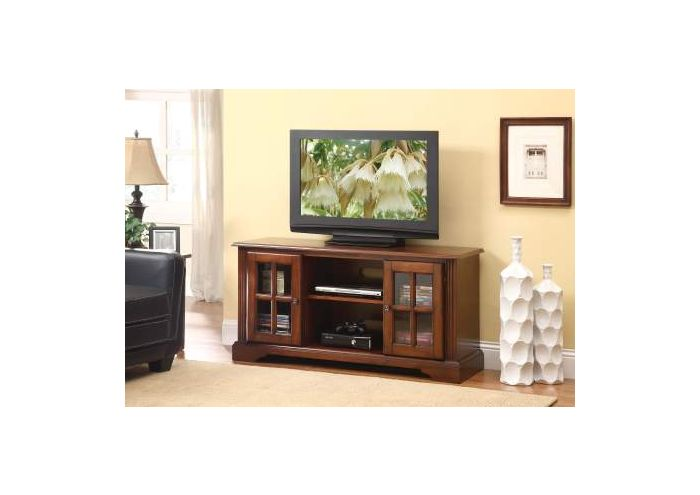 Basma TV Stand in Cherry