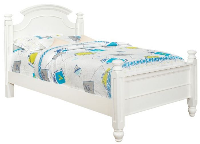 Bob's Twin Bed in White