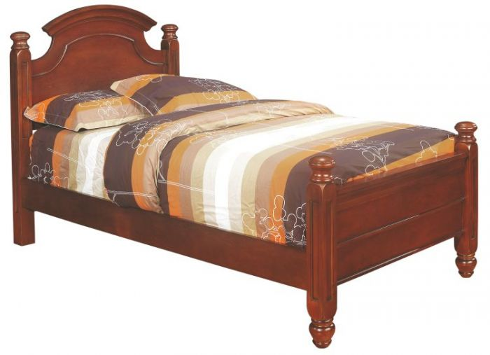 Bob's Twin Bed in Cherry
