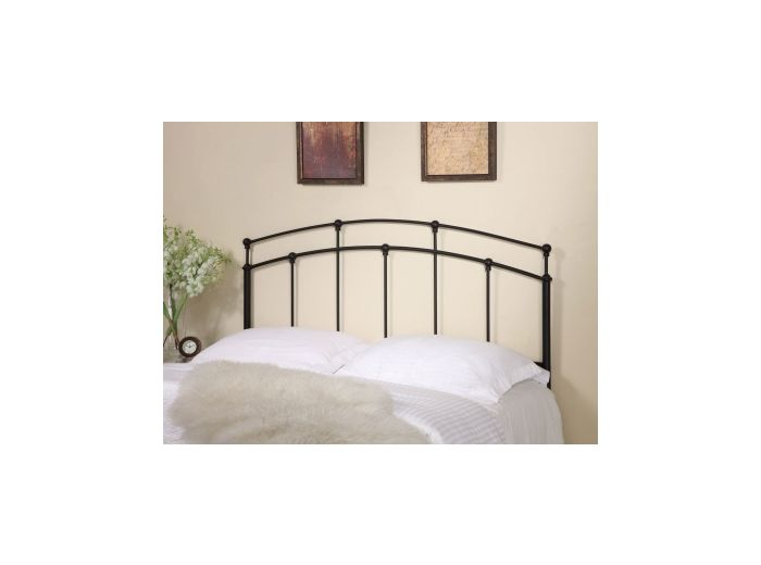 Full and Queen Spindle Headboard in Black