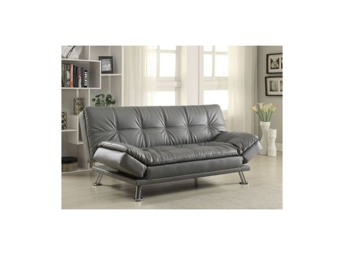 Dilleston Sleeper Sofa in Dark Gray