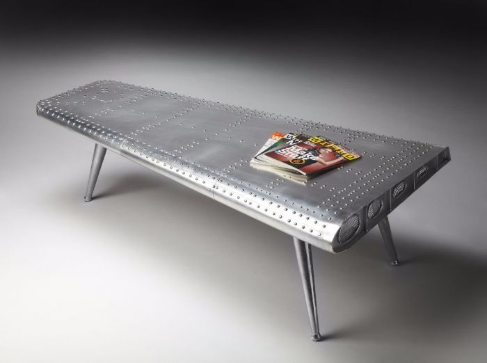 Midway Aviator Cocktail Table