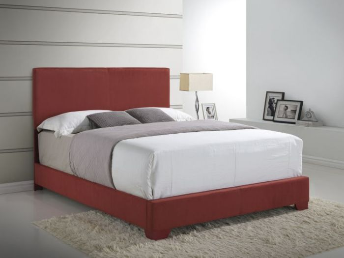 Bob's Microfibre Cover King Bed in Red
