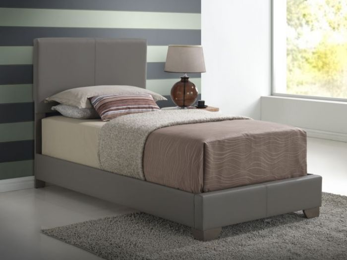 Bob's Twin Bed in Gray