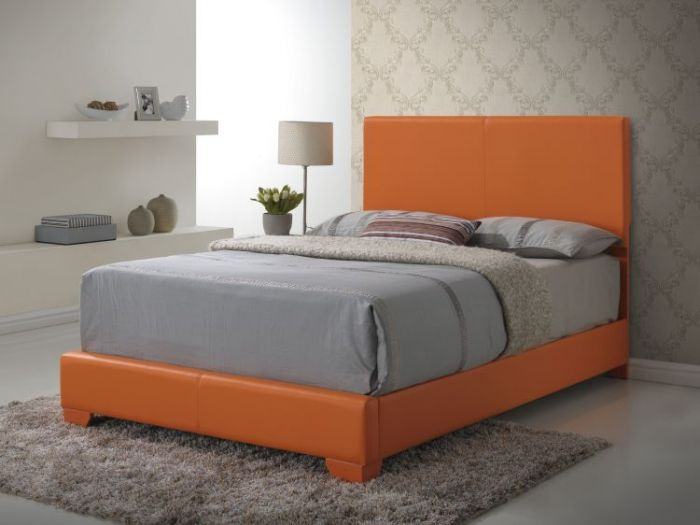Bob's Full Bed in Orange