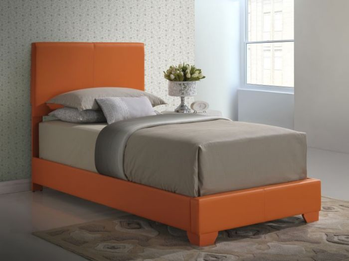 Bob's Twin Bed in Orange