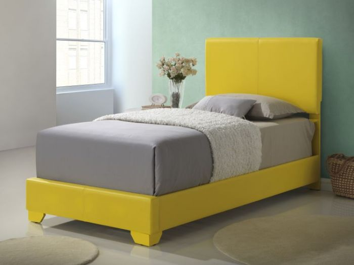 Bob's Twin Bed in Yellow