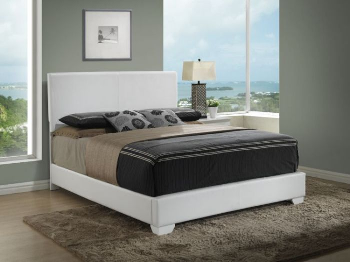 Bob's King Bed in White
