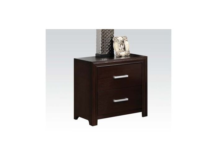 Ajay Nightstand, Espresso Finish