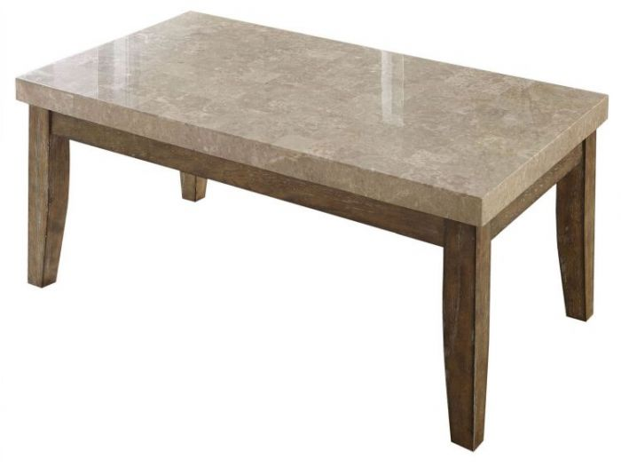 Franco Marble Top Table in Gray