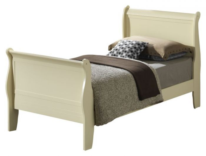 Bob's Twin Bed in Beige