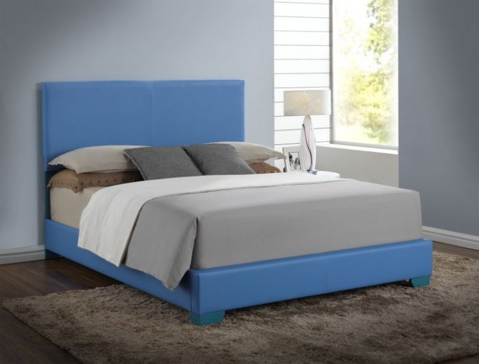 Bob's Queen Bed in Sky Blue