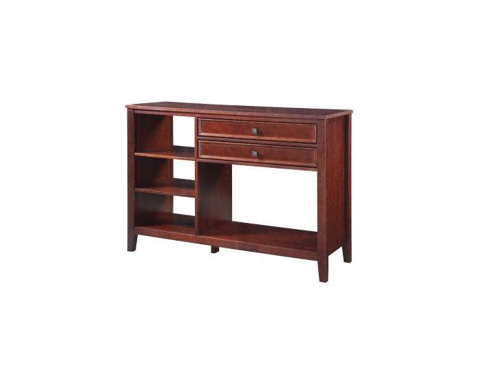 Wander Media Stand in Cherry Finish