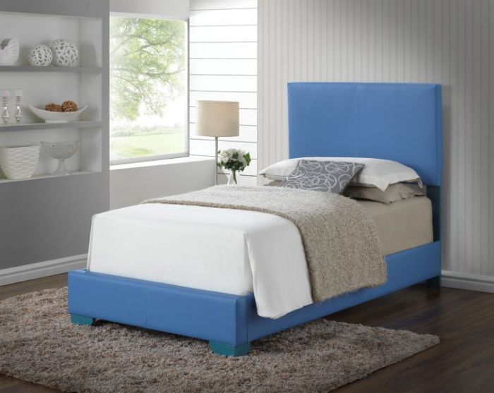 Bob's Twin Bed in Sky Blue