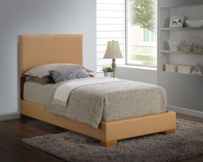 Bob's Twin Bed in Tan