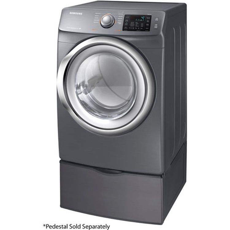 7 5 Cu Ft Electric Dryer In Platinum Washers Amp Dryers