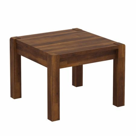 Larry End Table In Rustic Teak Finish End Tables