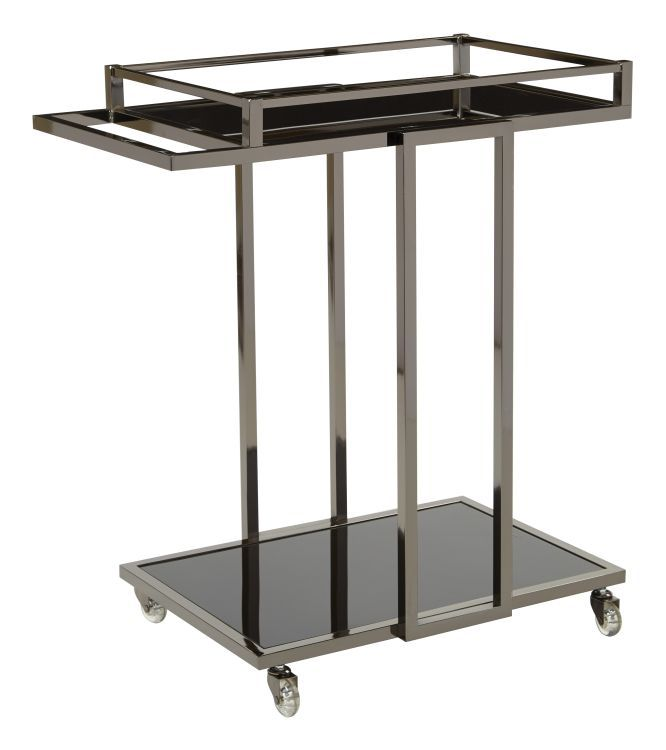 Angela serving cart in grey kitchen kitchen dining for Furniture rent to buy