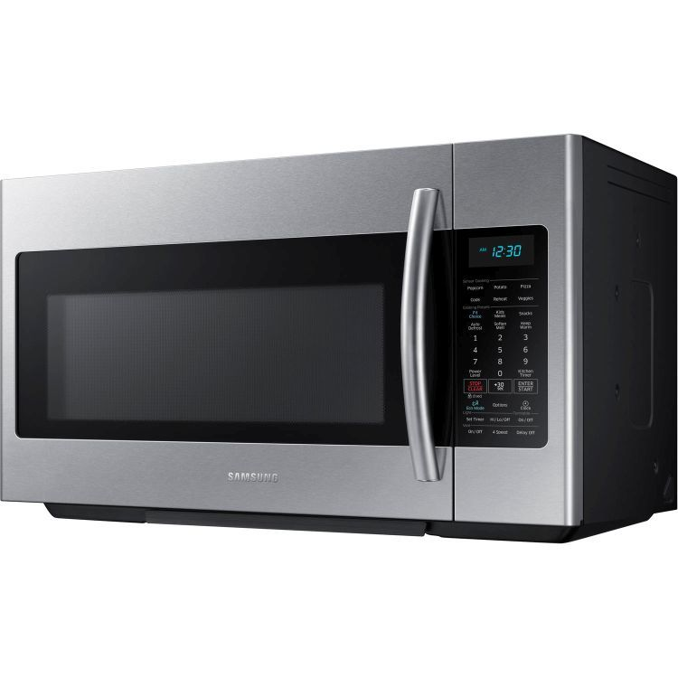 1 8 Cu Ft Over The Range Microwave In Stainless Steel