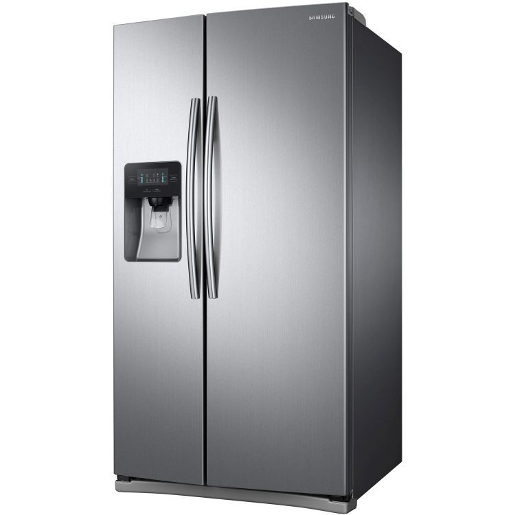 25 Cu Ft Side By Side Refrigerator In Stainless Steel