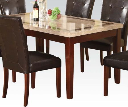 Earline Dining Table With Walnut Finish Table Only