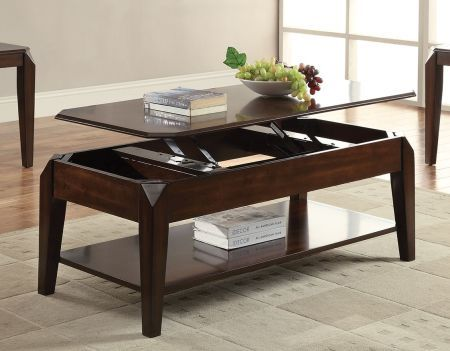 Coffee table with lift top coffee tables living room for Furniture rent to buy