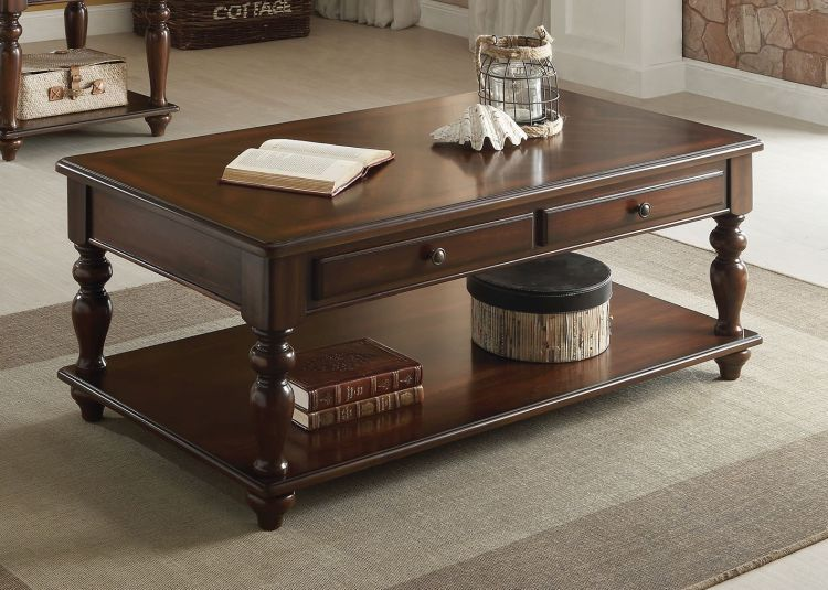 Farrel Coffee Table With Lift Top In Walnut