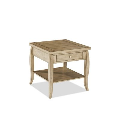 Glen Valley Square End Table in Brown - 012013095058