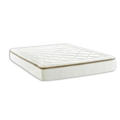 Dream Weaver 10'' Memory Foam Twin Mattress in White - 012013148952