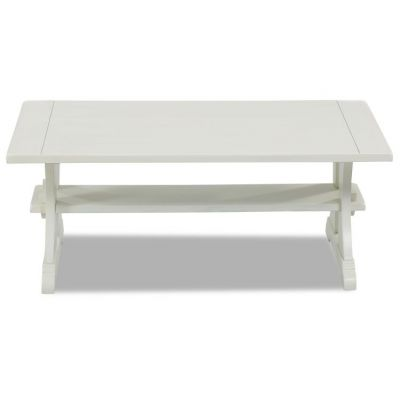 Santa Cruz Cocktail Table in White - 012013177709