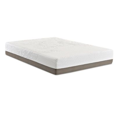 Strata 12'' PureGel Mattress, Twin Extra Long in White - 012013200940