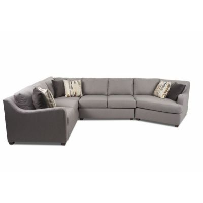 Greer Sectional in Pewter - 012013376560